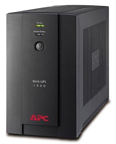 APC Back-UPS 1400VA, 230V, AVR, Universal and IEC Sockets BX1400U-MS