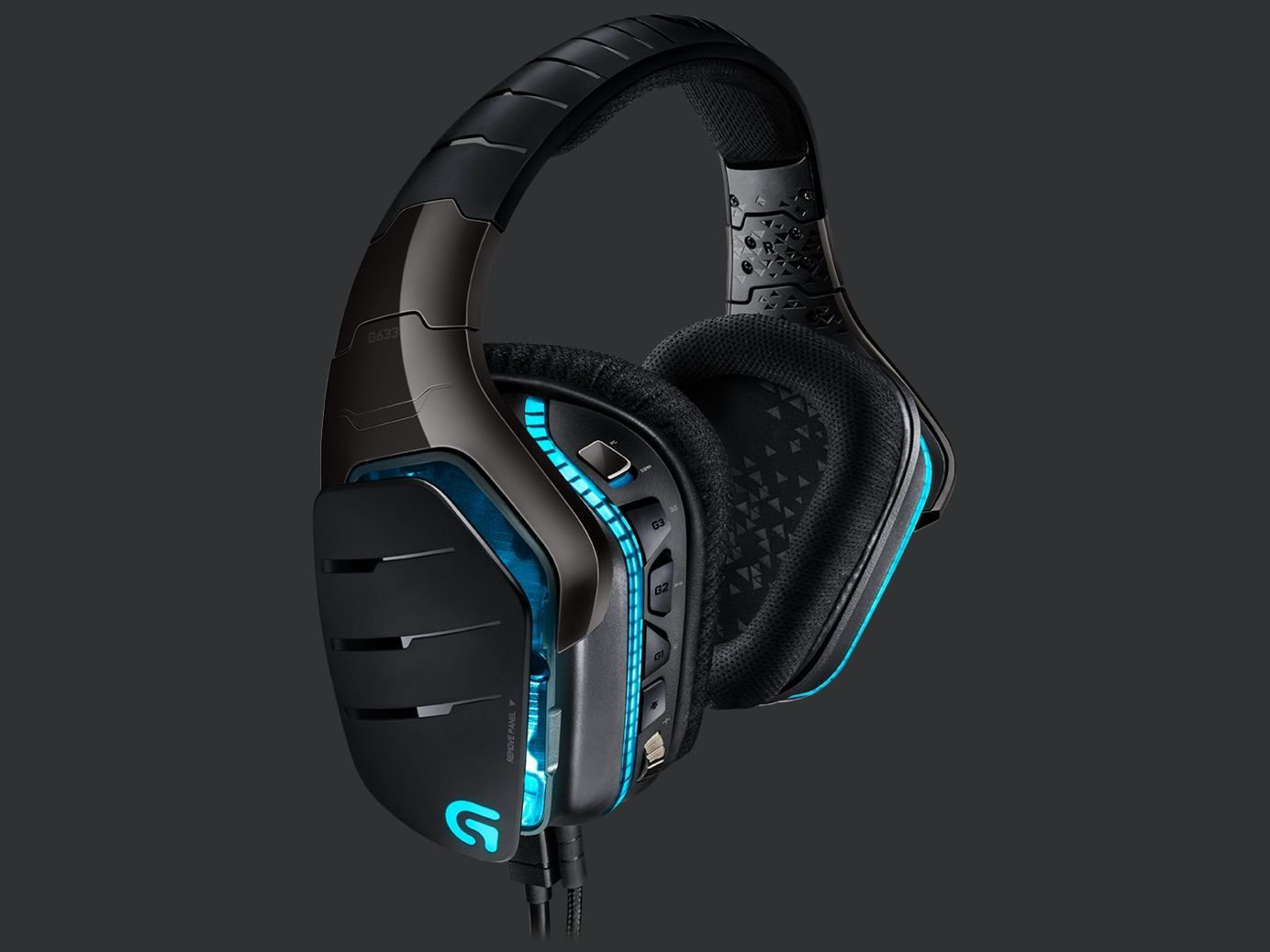 Logitech G633 Artemis Fire Wired Surround Sound Gaming Headset