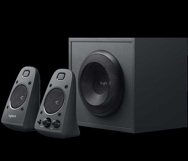 Logitech Z625 Speaker System With Subwoofer & Optical Input