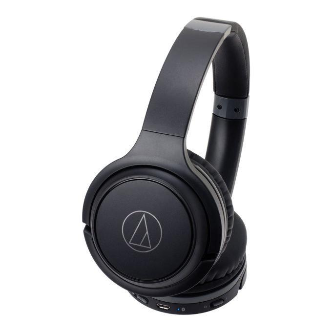 Audio Technica Wireless On-Ear Headphones ATH-S200BT