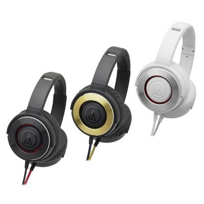 Aduio Technica Portable Headsets For Smartphone ATH-WS550iS