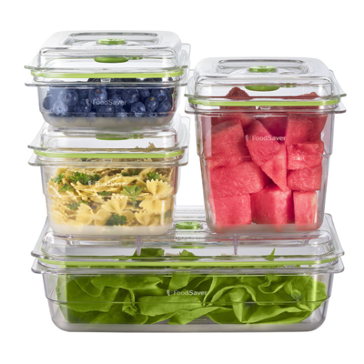 FoodSaver 4-Piece Set Fresh Container FA4SC35810-073