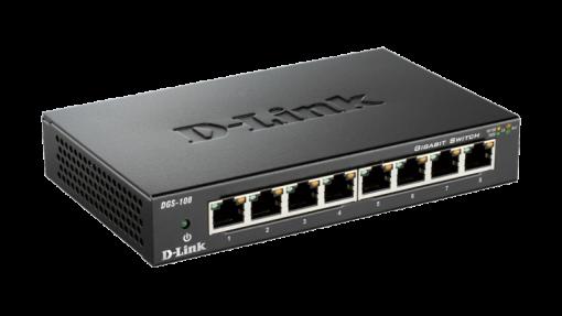 D-Link 8-Port Gigabit Desktop Switch DGS-108