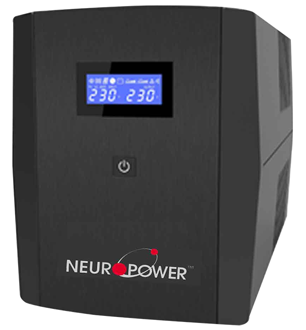 Neuropower City 1200-USB Series 1200VA Compact UPS