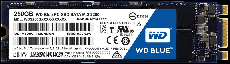 Western Digital Blue PC SSD M.2 2280 250GB