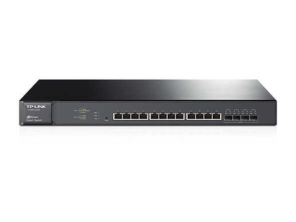 TP-Link JetStream 12-Port 10GBase-T Smart Switch with 4 10G SFP+ Slots T1700X-16TS