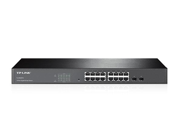 TP-Link 16-Port Gigabit Smart Switch with 2 Combo SFP Slots TL-SG2216