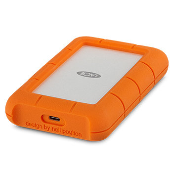 LaCie 2TB Rugged Secure USB 3.1-C With Rescue STFR2000403