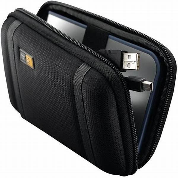 Case Logic Compact Portable Hard Drive Case PHDC1