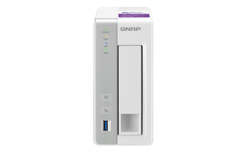 QNAP 1 Bay NAS Storage For Small & Home Offices TS-131P