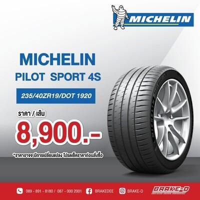 235/40ZR19 MICHELIN PILOT SPORT4s