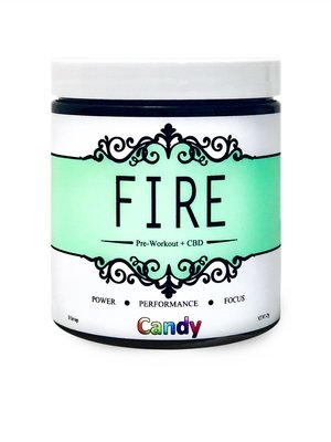 Fire Pre-Workout - Candy