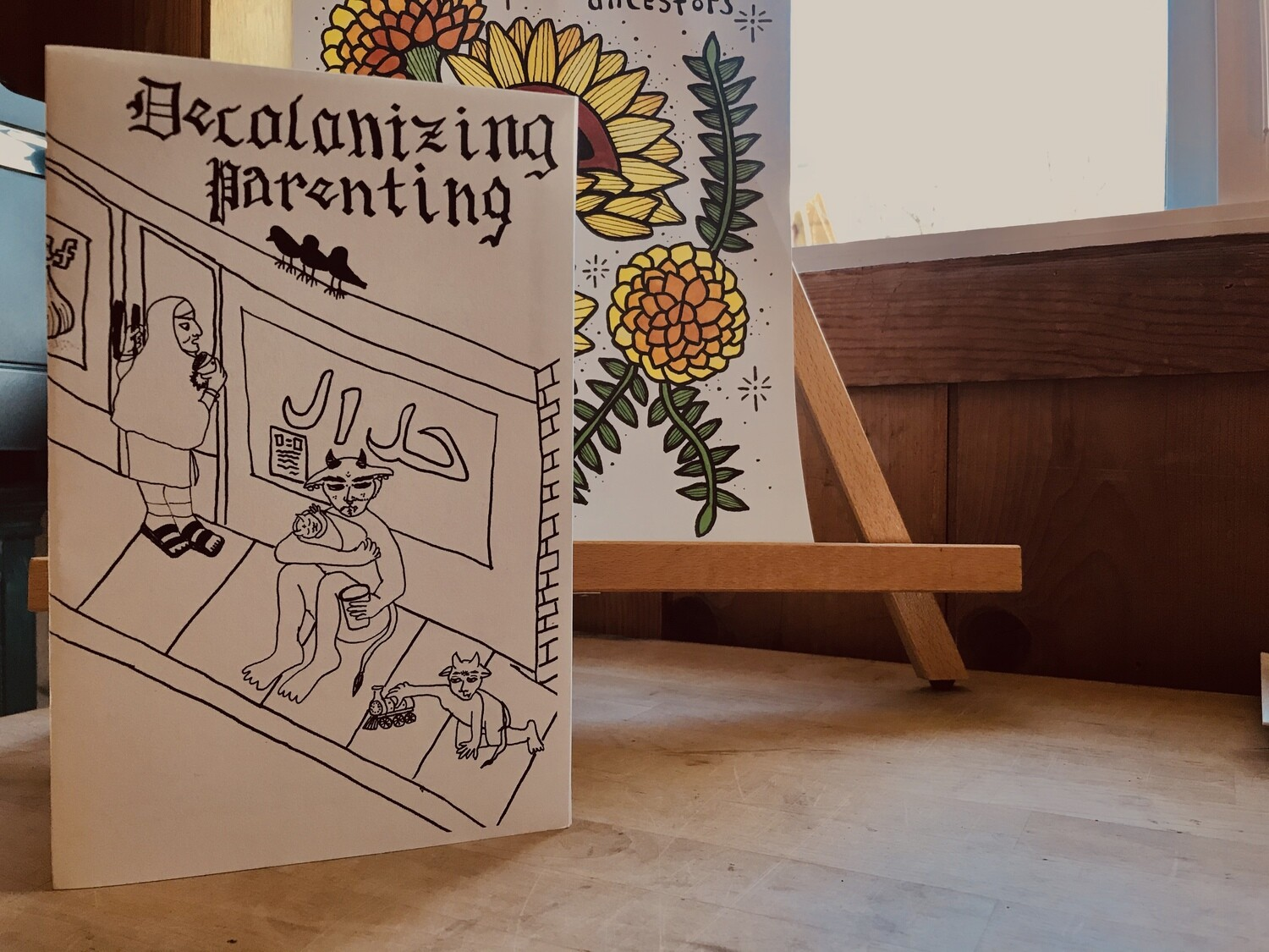 Decolonizing Parenting Issue 2: a zine by and for queer parents of color