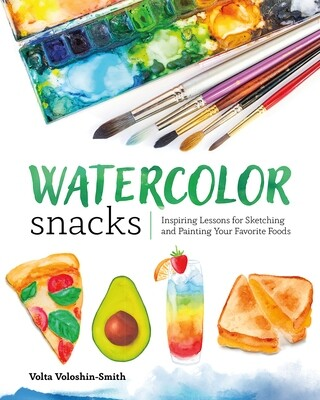 Watercolor Snacks Book