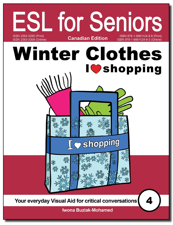 Winter Clothes—I like shopping (ESL for Seniors) Book PDF