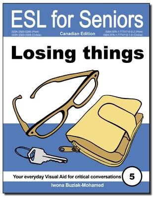 Losing things (ESL for Seniors) Book PDF