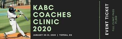 2021 KABC Coaching Clinic