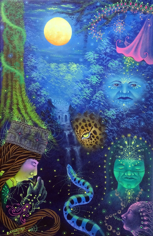 Robert Pelaco Montes Amaringo - Visiones Amazónicas