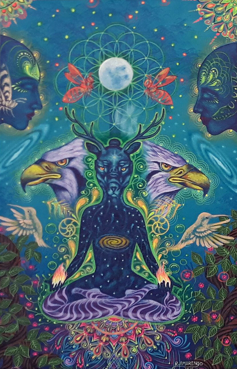 Robert Montes Amaringo - Meditación Cósmica