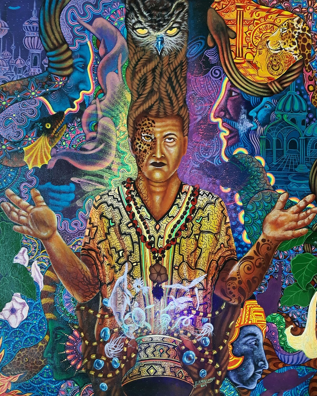 Robert Montes Amaringo - Shaman Adquiriendo Poder del Aya