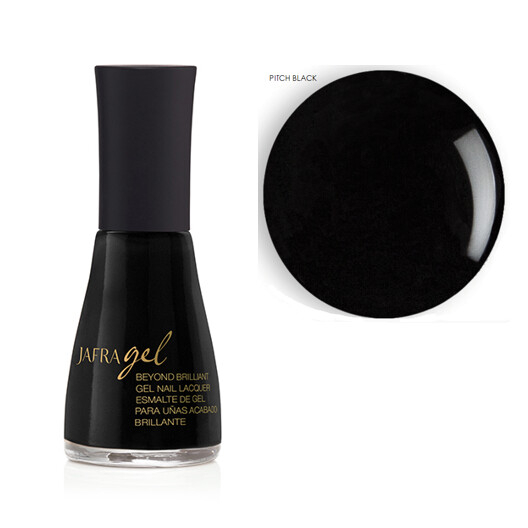 Beyond Brilliant Gel Nail Lacquer - Pitch Black
