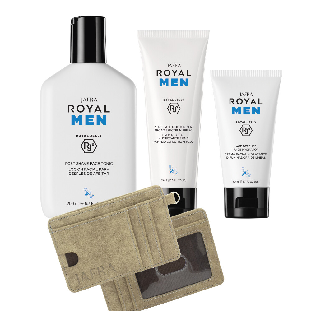 Royal MEN Set - 3 producten + Wallet