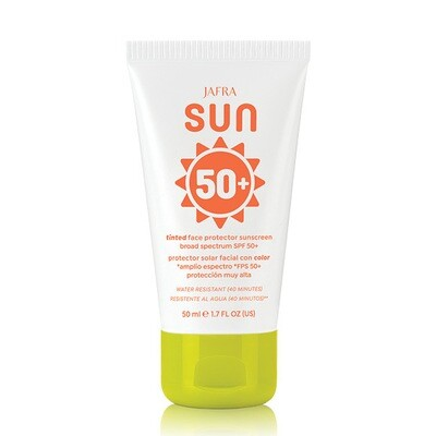 Sun Tinted Face Protector Sunscreen Broad Spectrum SPF 50+