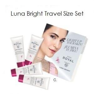 Luna Bright TRAVEL Set - 4 producten