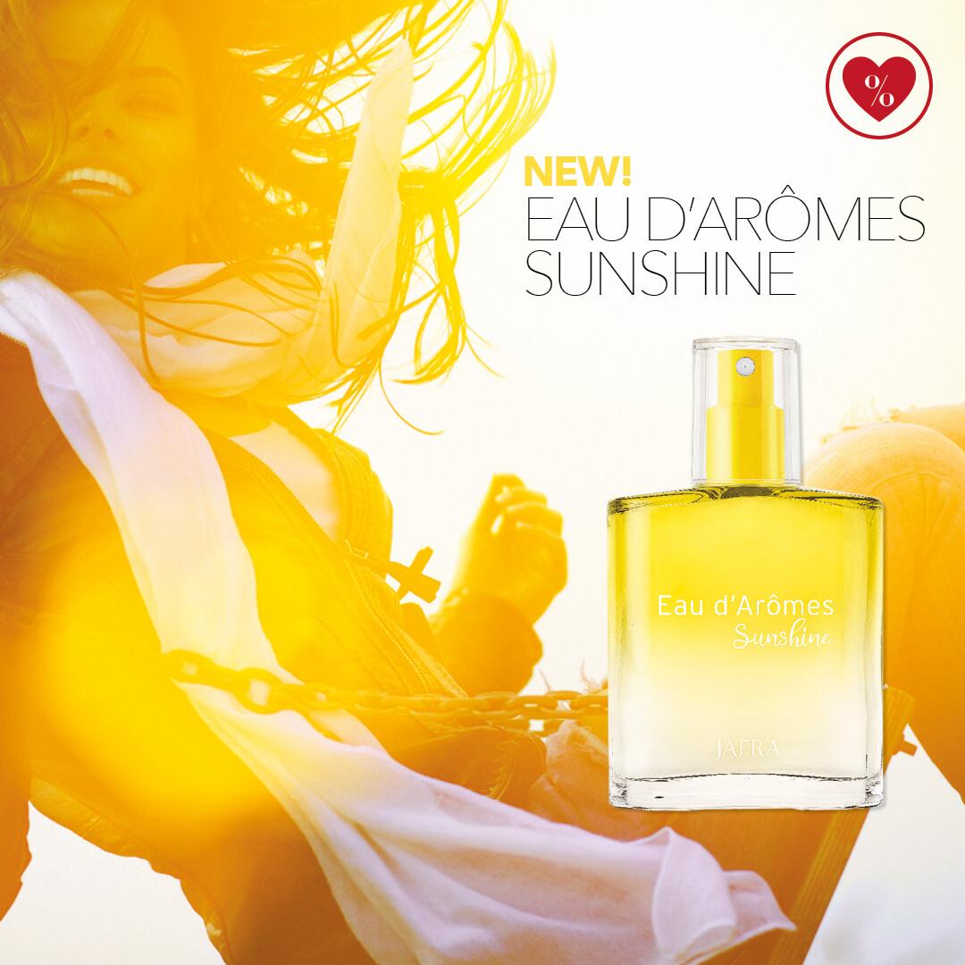 NIEUW - Eau d'Arômes Sunshine Body Spray
