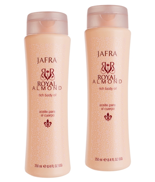 Royal Almond Rich Body Oil DUO set