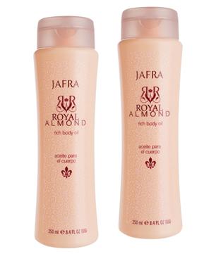 Royal Almond Rich Body Oil DUO Gift set