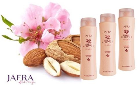 """Royal Almond Body Oil Set: """"de AMANDELOLIE"""" 3 voor de prijs van 2"""