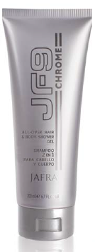 JF9 Chrome - AllOver Hair & Body Shower Gel