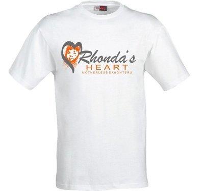 Rhonda's Heart Logo Shirt / White