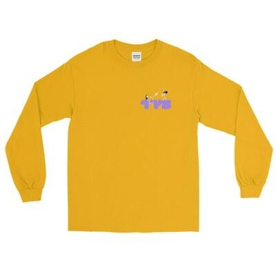 LA Unisex Long Sleeve Shirt (Purple)