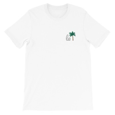 Limited Edition LA Unisex T-Shirt (White on White)