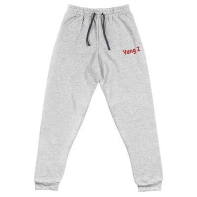 Yung Z Unisex Joggers (Red)