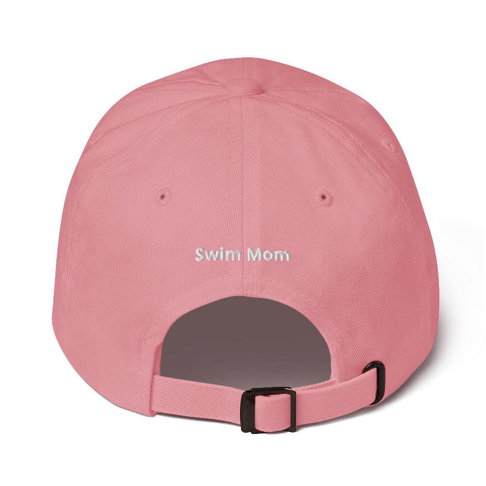 """Swim Mom"" Dad hat"