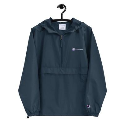 "Embroidered ""We Aquatics x Champion"" Packable Jacket"
