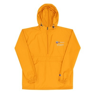 Embroidered Champion Packable STAFF Jacket