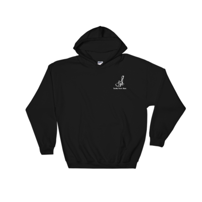 Embroidered Hoodie(White logo)