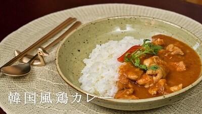 韓国風鶏カレー