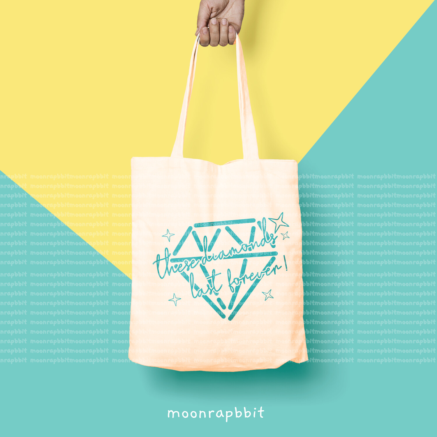 Bag: Diamond last forever Tote