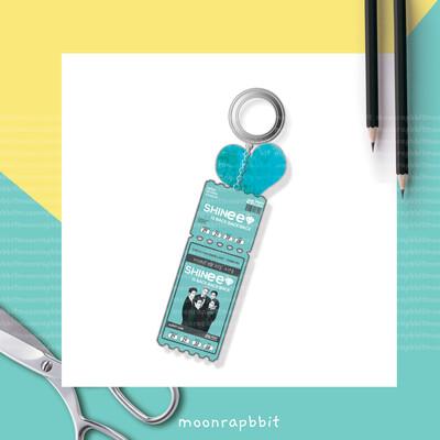 Keychain: Ticket Of SHINee