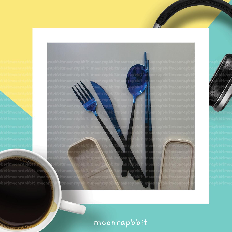 SSC:Metal Spoon Fork Knife Chopstick