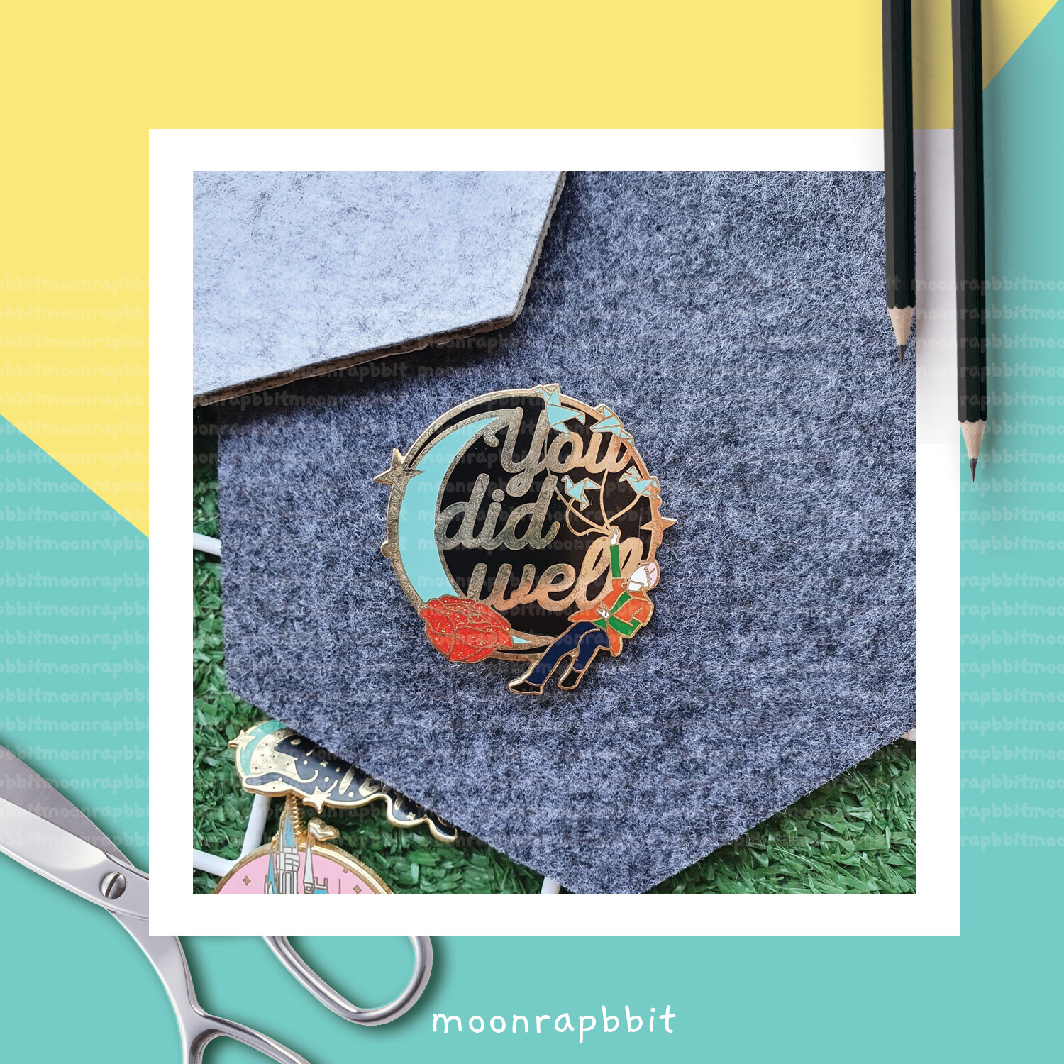 Enamel Pin: You Did Well