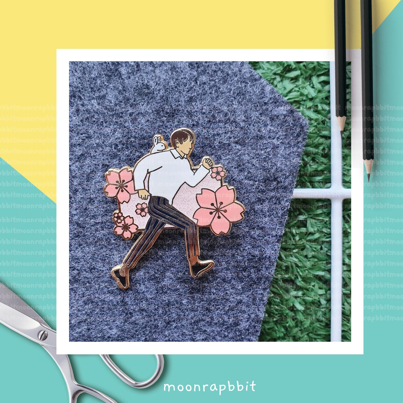 Enamel Pin: Blossoming Day Minho