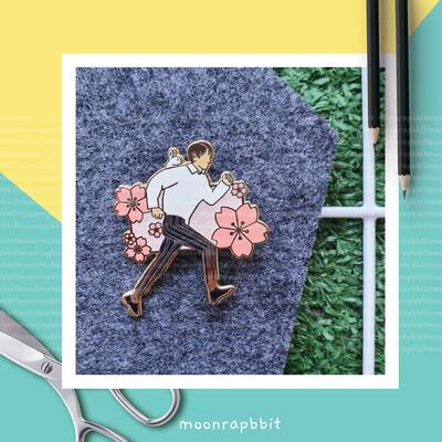 Enamel Pin: Blossoming Day Minho