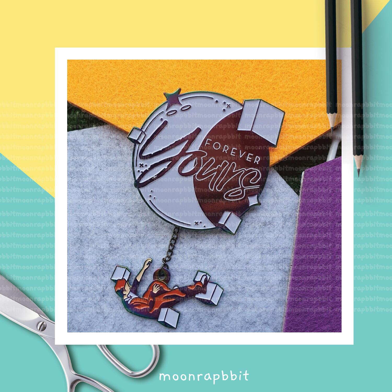 Enamel Pin: FOREVER YOURS KEY