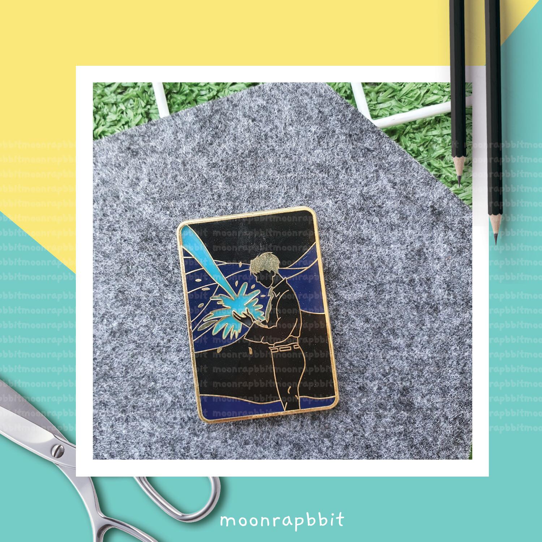 Enamel Pin: Blue